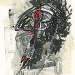 """Rodrigo Gárate Chateau, """"Hombre negro en silencio"""" (2016)"""