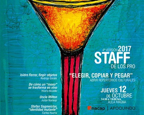 Afiche Staff de los PRO 2017